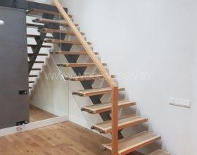 индивидуальное изготовление деревянных лестниц фото