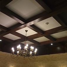 мебель из дерева на заказ в минске: фото отделки потолка