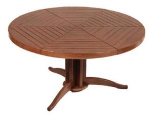 кухонный стол круглый фото