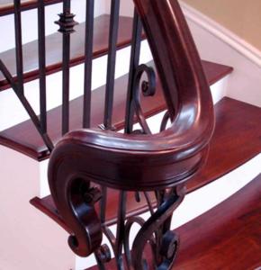 поручни для лестниц из дерева фото минск