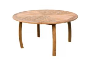 стол круглый из массива фото