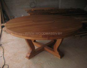 деревянный стол на заказ фото